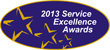 Service Excellence Award for Legendary Support